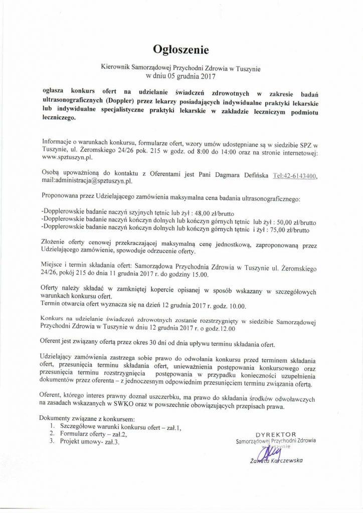 Ogłoszenie i SWKO Konkurs Doppler0001