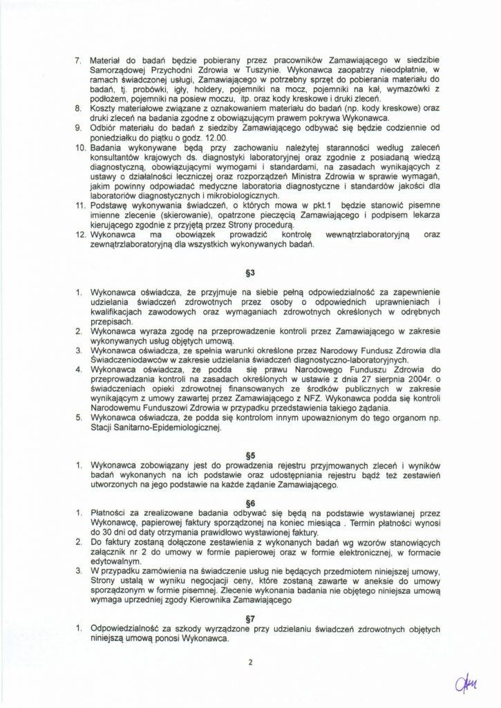 Umowa laboratorium str2-1